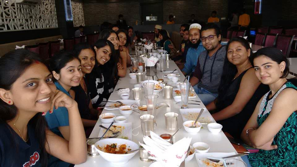 Lunch at Sankalp