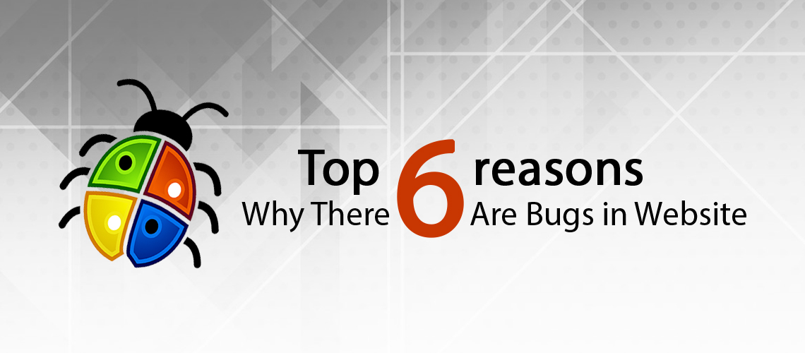 Top 6 Reasons Why There Are Bugs in Website!
