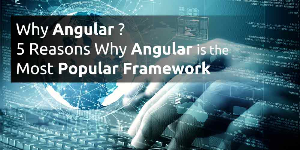Why Angular? 5 Reasons Why Angular is the Most Popular Framework