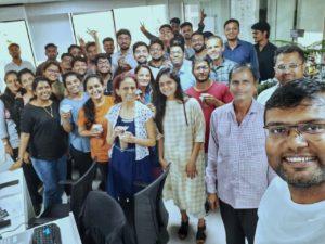 August Infotech - Group Selfie