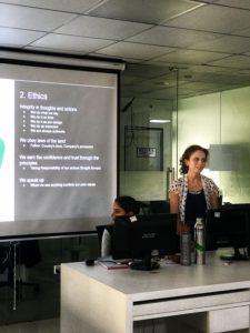 Jignasa Naik, Team Ethics