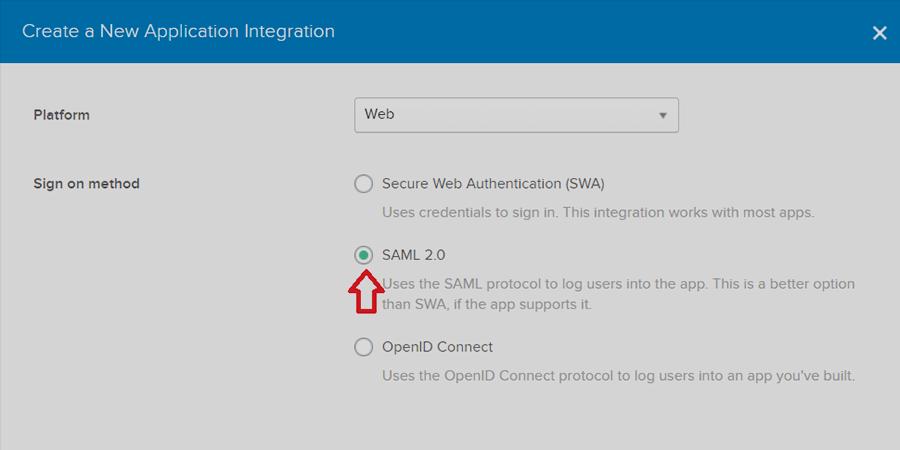 August Infotech - SAML2.0- Create New Application